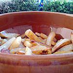 recette Frites maison au four