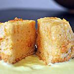 recette Molotof, soufflé au caramel avec crème anglaise