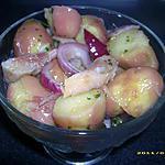 recette salade rose aux filets de harengs