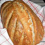 recette Pain au levain seigle et céréales