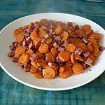 recette Carottes sautées au jambon