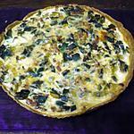 recette Quiche poireaux/lardons