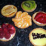 recette tartelettes aux fruits