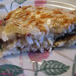recette Filet de sole à la crème de champignon