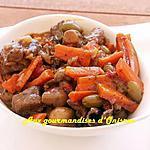 recette Estouffade Provençale de boeuf aux carottes