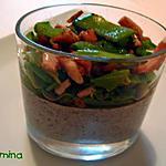 recette PANNA COTTA AUX CHAMPIGNONS