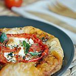 recette Feuilletés tomate et fromage de chèvre à la provençale