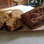 recette CAKE ARDECHOIS a la creme de marron et choco blanc