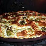recette Quiche au roquefort et brocolis WW