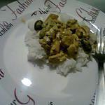 recette Riz sauce au curry