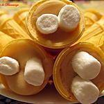 recette Cornets au sucre et guimauves