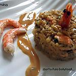 recette Risotto aux crevettes