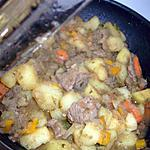recette Poélé de boeuf et ses légumes