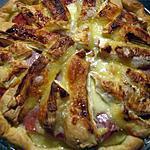 recette Quiche au pommes de terre, camembert et bacon