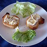 Tartine camembert allégé/blanc de volaille