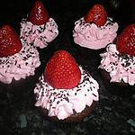 recette cupcake fraise