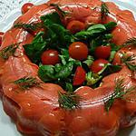 recette terrine aux deux saumons
