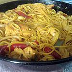 recette Paella revisiter façon belle maman et LiLi