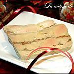 recette Terrine de Foie gras à la figue et au pain d'épices