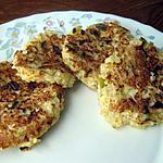 recette Galettes de boulghour aux poireaux