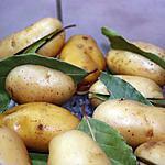 recette Pommes-de-terre vapeur au laurier
