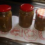 recette Confiture à la Rhubarbe