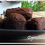 Mini-cakes extra fondants au chocolaaat