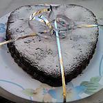 recette Gateau coeur au chocolat fourré à la mousse au chocolat