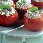 recette Tomates farci à la ricotta et sardine