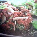 recette Tartare de boeuf à l'italienne
