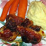 recette Pilons de poulet à Suzan