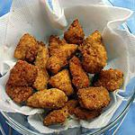 recette mes nuggets de dinde