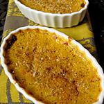 recette Crèmes brulées à la butternut et aux noisettes