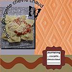 recette ravioli courgette chevre chaud