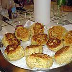 croquettes de pommes de terres / poulet
