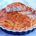 recette Quiche de purée de pommes de terre au saumon fumé