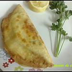 recette brik à l'oeuf et thon