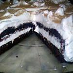 recette gâteaux choco meringuée: