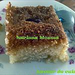 harissa sucrée (pâtisserie tunisienne)