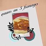 recette naans au 3 fromages