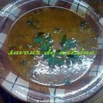 recette chorba frik (soupe à la semoule de bée dur mondé gros))