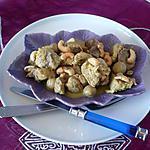 recette Porc aux noix de cajou