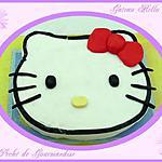 Hello kitty : recette Gateau tête Hello Kitty
