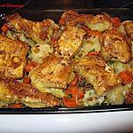 recette Morue et légumes au four