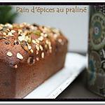 recette ** On revisite le Pain d' épices dans une version ultra moelleuse au praliné & aux pistaches grillées **