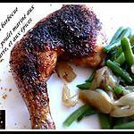 recette grillée au barbecue cuisse de poulet mariné aux babeurre et aux épices