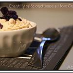 recette ** Amuse Bouches festives : Crème de lentilles  et sa chantilly au foie gras façon mini cappuccino **