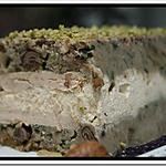 recette ** Une terrine aux  saveurs des sous bois ( champignons ) truffée au foie gras**