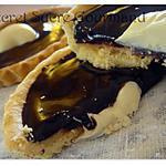 recette Tartelettes Caramel,Cacahouètes et chocolat