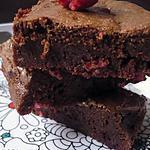 recette Brownie fondant aux pralines roses